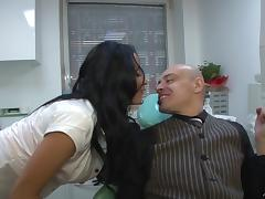 Anissa Kate wearing a corset gets her pussy drilled remarcably well tube porn video