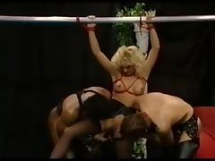 Vintage porn film with German MILFs fucking tube porn video
