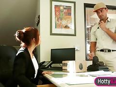 Lusty office girl Isabella De Santos enjoyed glamcore scene tube porn video