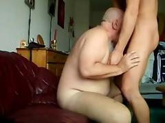 GAY BEAR GRANDPA FUCKED CUMMING tube porn video