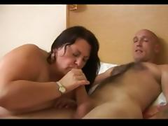 Huge titted mature BBW loves it in pussy and ass tube porn video