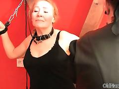 old woman spank chubby butt tube porn video
