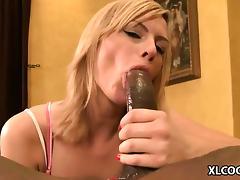Tara Lynn Foxx takes black cock tube porn video