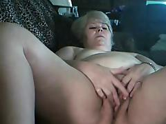 Fat Blond Granny in Webcam R20 tube porn video