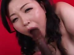 Nice japanese BBW tube porn video