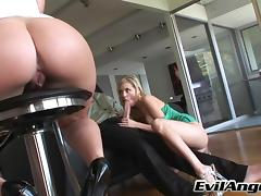 Mark Ashley Fucks Nicole Ray And Miley Ann In Hardcore FFM Threesome tube porn video