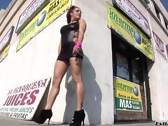 Francesca Le Receives A Hot Bukkake In A Hardcore Porn Gangbang tube porn video