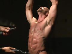 Harsh anal for strong male tube porn video