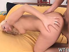Pretty hotty gets fucked from behind tube porn video