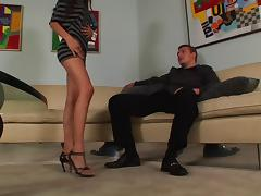 Alexis Love face fucking before exploring foot fetish tube porn video
