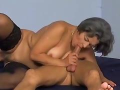 Granny get fucked - 5 tube porn video