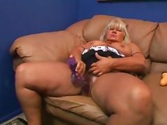 BBW Granny Gets Her Hairy Pussy Fucked tube porn video
