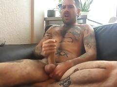 Jack Darling smoke & stroke tube porn video
