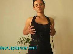 Busty amateur lapdances on huge cock tube porn video