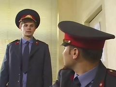 Russian police on guard tube porn video