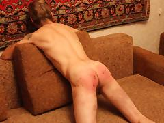 Rus gay spanking tube porn video