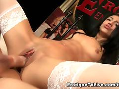 Veronica Rodriguez Hot In White Sex Show tube porn video