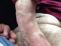 Tasting white daddy cock in the car again tube porn video