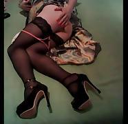 Masturbating in lovely dress..) tube porn video