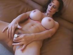 Fake Tits MILF Erika Lockett Toys and Fucks tube porn video