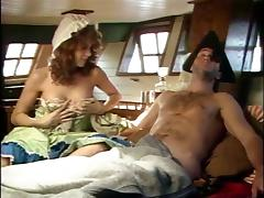 Bottle Of Rum And Filthy Men On The Woman's Chest tube porn video