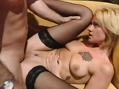 Angelica Wild Black Stockings Sex tube porn video