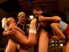 German group sex X tube porn video