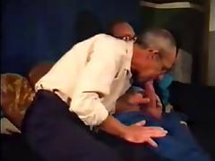 Vintage daddies play tube porn video
