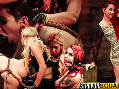 Sheena Rose Endures More Lesbian Domination from Mila Blaze & Brooklyn Daniels tube porn video