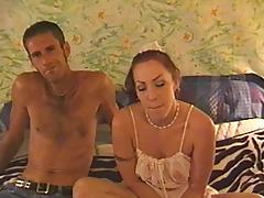 Great sex with his pierced nipples girlfriend makes him cum tube porn video