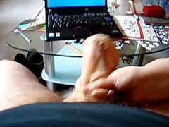 handjob with nylonsocks tube porn video