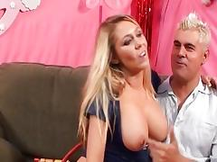 Brynn Tyler plays with her hot tits tube porn video