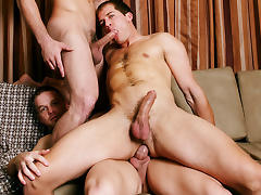 Brandon Lewis & Jack King & Liam Magnuson in Bromance Video tube porn video