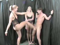 Amateur trio along two horny ladies tube porn video