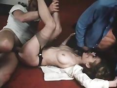 Veronica Hart, Robert Kerman, Mistress Candice in classic porn movie tube porn video