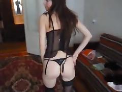 Girlfriend Amateur Striptease tube porn video