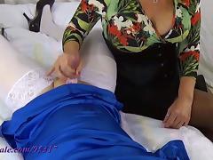 Double Sissy Milking tube porn video