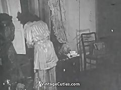 Chick Dreaming of Amazing Fucking in Bed (1950s Vintage) tube porn video