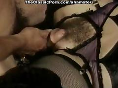 Hillary Summers, Kyoto Sun, Laurien Dominique in vintage tube porn video