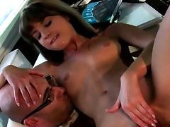 Teacher Fucks Teen Doggystyle tube porn video
