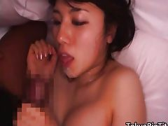 Azusa Nagasawa Japanese beauty has nice tube porn video