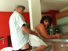 Young french arab bbw fucked by an old man tube porn video