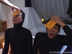 japanese cop masturbates furiously tube porn video
