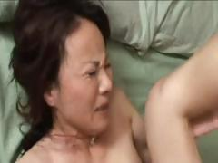 Horny Japanese MILF gives him head and then gets plowed hard tube porn video