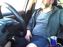 Smoking, poppers, public car jacking tube porn video