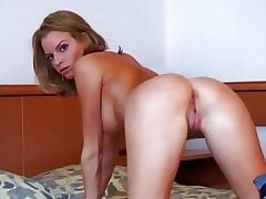 Compilation of dilettante ladies bending over tube porn video