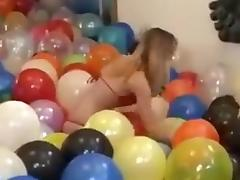 2009 New Years Balloon Burst tube porn video