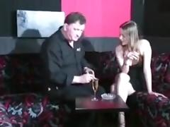 French  immature doxy casting with fisting tube porn video