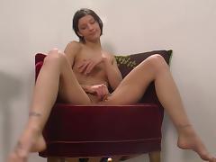 Danish Annika solo tube porn video