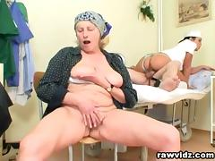 Hot Nurse Helps Old Patient To Get Laid tube porn video